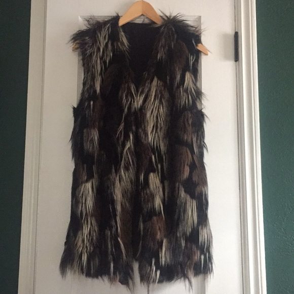 Free People Jackets & Blazers - Free People Faux Fur Vest
